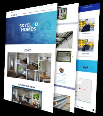 SkyClad Ltd Ireland Website Redesign by Upload Media Image 3