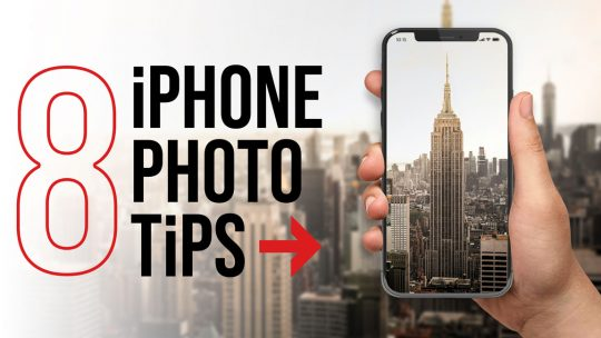 8 Photography Tips for Taking Better iPhone Photos Blog Cover Image