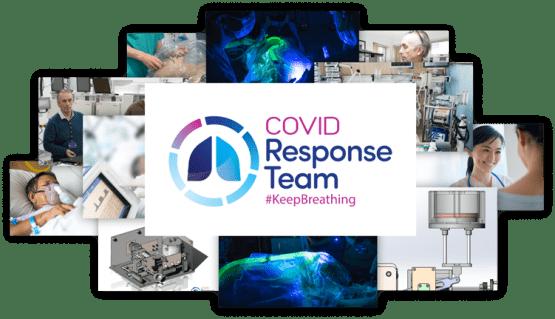 COVID Response Team Emergency Ventilators COVID-19 Ireland Photo Collage