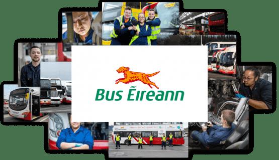Bus Éireann Irish Bus Service Photo Collage