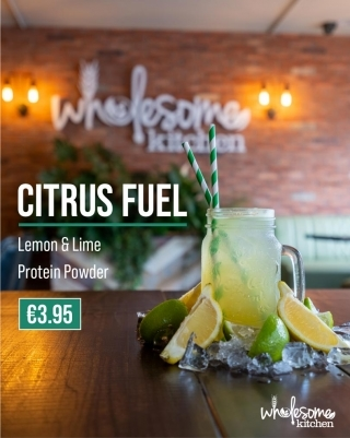 Wholesome Kitchen Nutritional Shake Menu Citrus Fuel