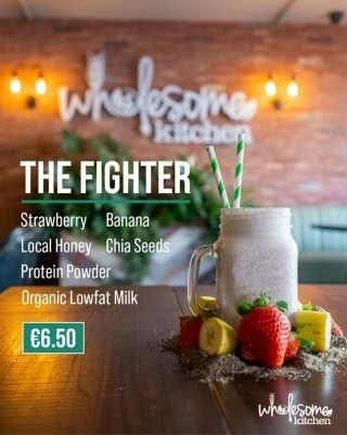 Wholesome Kitchen Nutritional Shake Menu The Fighter