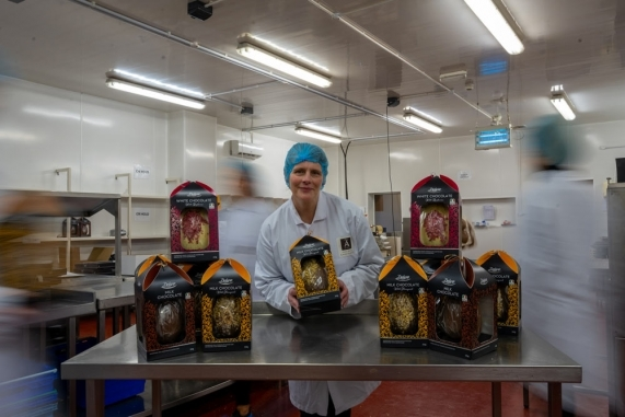 Lidl Ireland Photoshoot for Aine Hand Made Chocolate Image 3