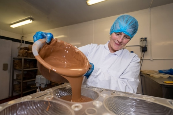 Lidl Ireland Photoshoot for Aine Hand Made Chocolate Image 1