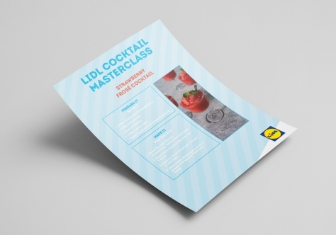Lidl Ireland Cocktail Masterclass Recipe Cards Image 3