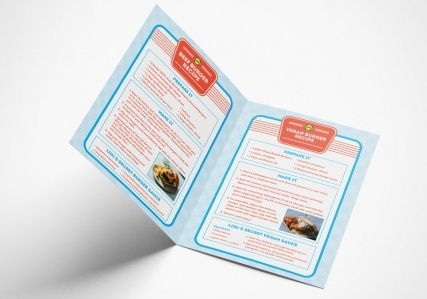 Lidl Ireland Sizzling BBQ Burgers Booklet Mockup 2