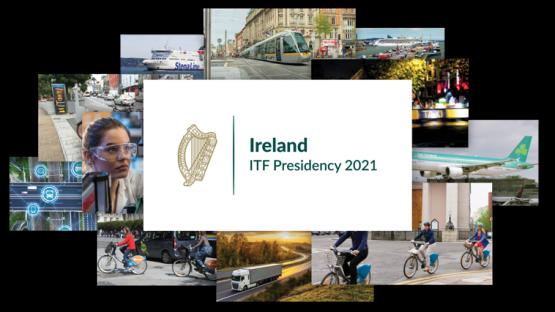 Ireland International Transport Forum ITF Presidency 2021 Photo Collage