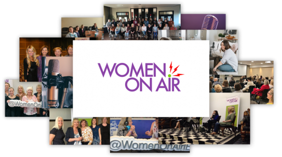 Women On Air Photo Collage