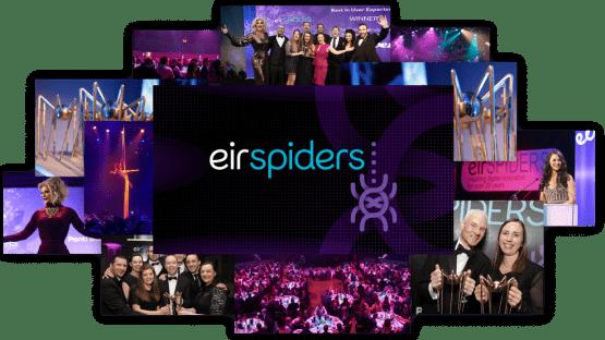 eirSpiders tech awards Ireland collage