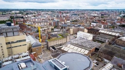 Guinness Quarter Aerial Drone Photography Image 2