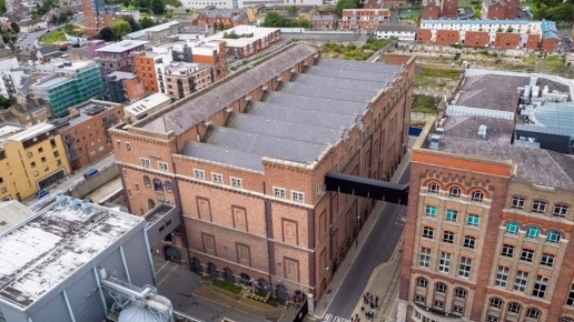 Diageo Ireland Guinness Quarter Aerial Drone Photography Image 3