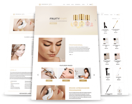Transformations Beauty Salon and Day Spa Website Redesign by Upload Media Image 1