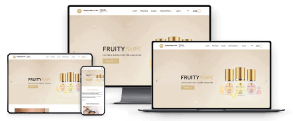 Transformations Beauty Salon and Day Spa Website Responsive Design on all Devices
