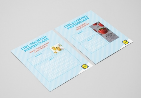 Lidl Ireland Cocktail Masterclass Recipe Cards Image 1