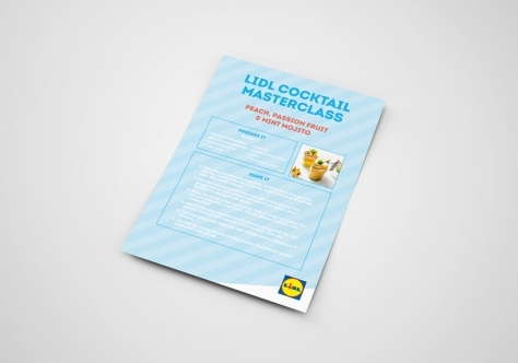 Lidl Ireland Cocktail Masterclass Recipe Cards Image
