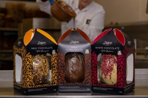 Lidl Ireland Photoshoot for Aine Hand Made Chocolate Image 2