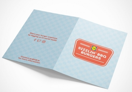 Lidl Ireland Sizzling BBQ Burgers Booklet Mockup 3