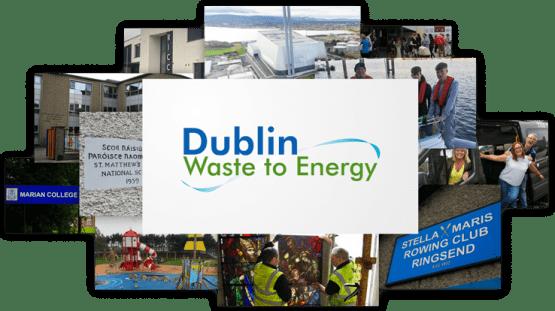 Dublin Waste to Energy Covanta Photo Collage